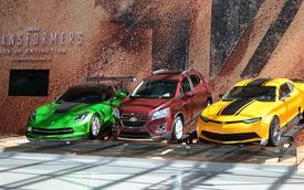 """Dàn xe Chevrolet tham gia """"Transformers 4"""" góp mặt tại New York"""